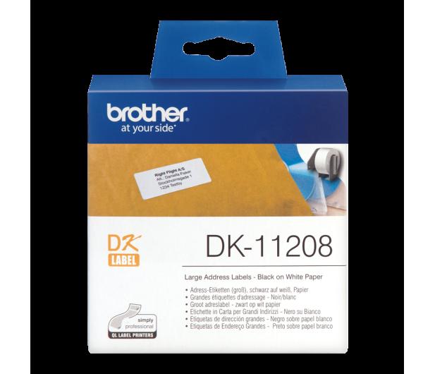 Brother Etykieta duża adresowa 400 szt. DK11208 - 393656 - zdjęcie 2