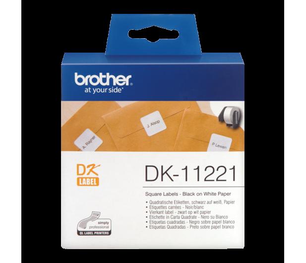 Brother Etykieta kwadratowa 1000 szt. (DK11221) - 393667 - zdjęcie 2