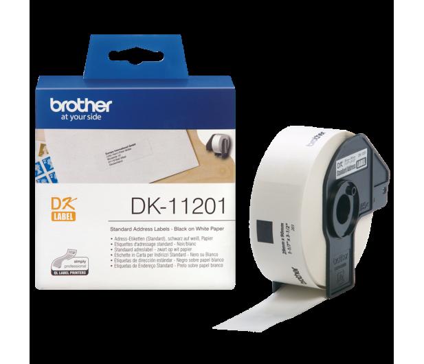 Brother Etykieta standardowa adresowa 400 szt. (DK11201) - 393642 - zdjęcie