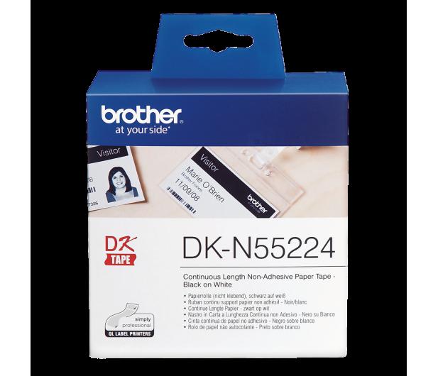 Brother Taśma ciągła papierowa nieprzylepna 54mm DKN55224 - 393678 - zdjęcie 2
