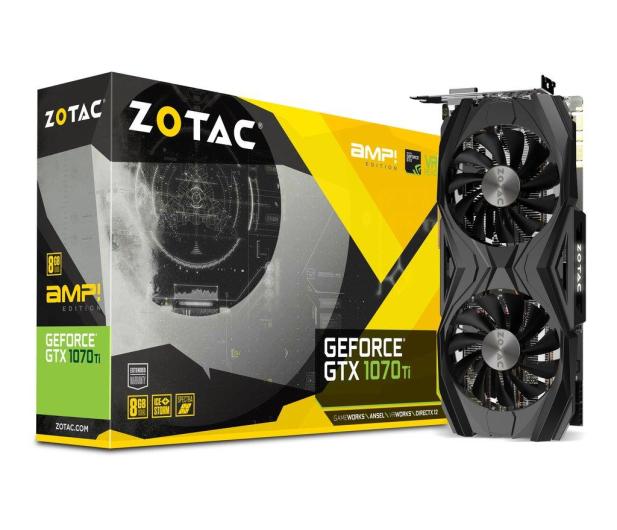 Zotac Geforce GTX 1070 Ti AMP Edition 8GB GDDR5 - 394203 - zdjęcie