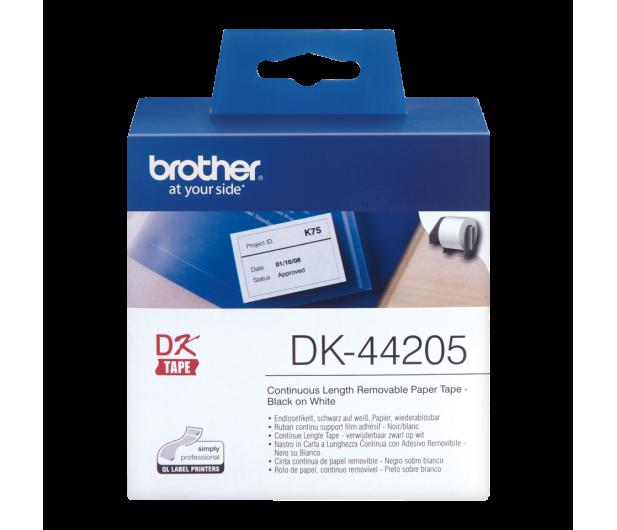 Brother Taśma ciągła papierowa usuwalna 62mm (DK44205) - 393720 - zdjęcie 2