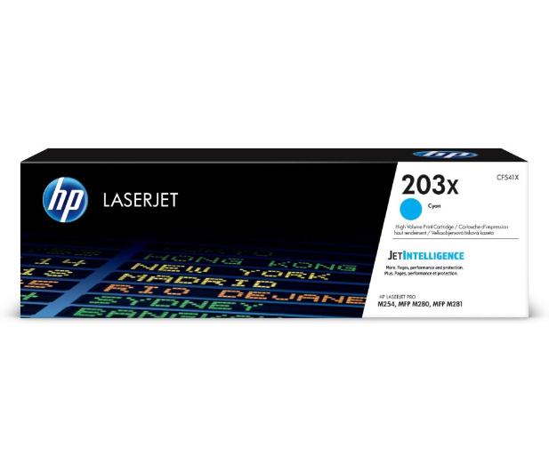 HP 203X CF541X Cyan 2500 str. - 393740 - zdjęcie