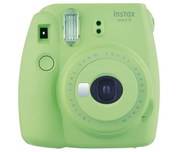 Fujifilm Instax Mini 9 zielony + wkład 10 zdjęć  - 393602 - zdjęcie 2