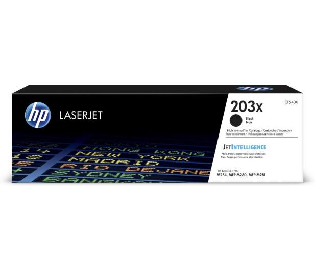 HP 203X CF540X Black 3200 str. - 393739 - zdjęcie