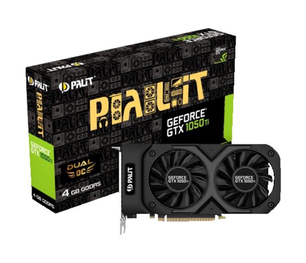 Palit GeForce GTX 1050 Ti DUAL OC 4GB GDDR5 - 336056 - zdjęcie