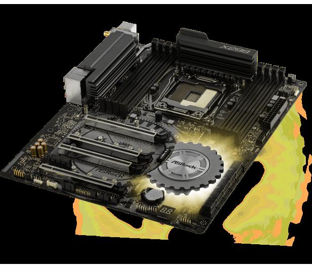 ASRock X299 TAICHI XE (PCI-E DDR4 USB 3.1 / M.2) - 391011 - zdjęcie 4