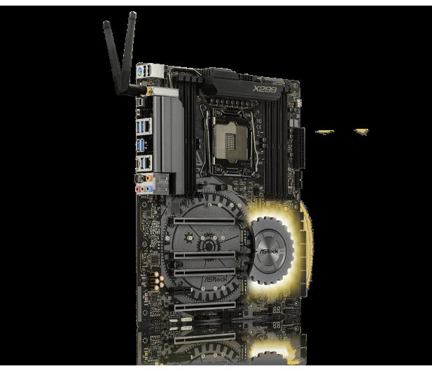 ASRock X299 TAICHI XE (PCI-E DDR4 USB 3.1 / M.2) - 391011 - zdjęcie 2