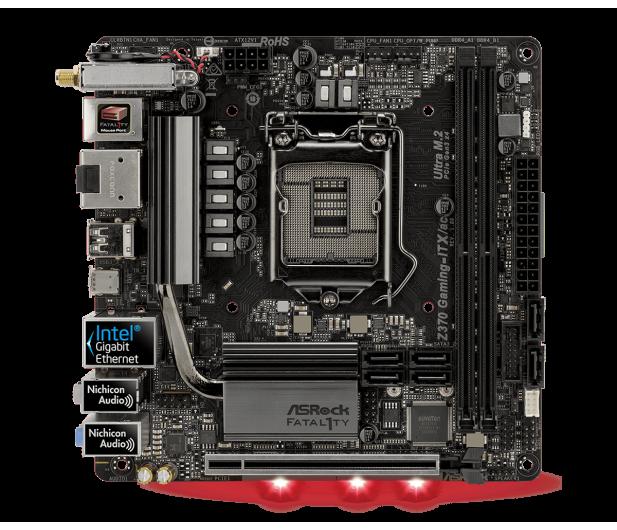 ASRock Fatal1ty Z370 Gaming-ITX/AC - 394805 - zdjęcie 3