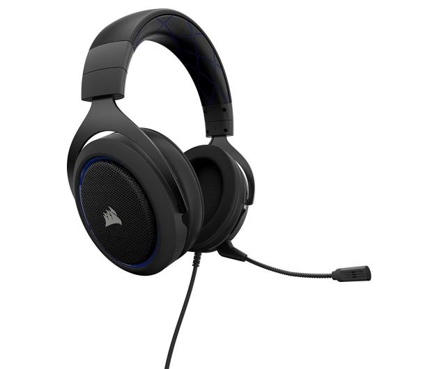 Corsair HS50 Stereo Gaming Headset (niebieskie)  - 395038 - zdjęcie 3