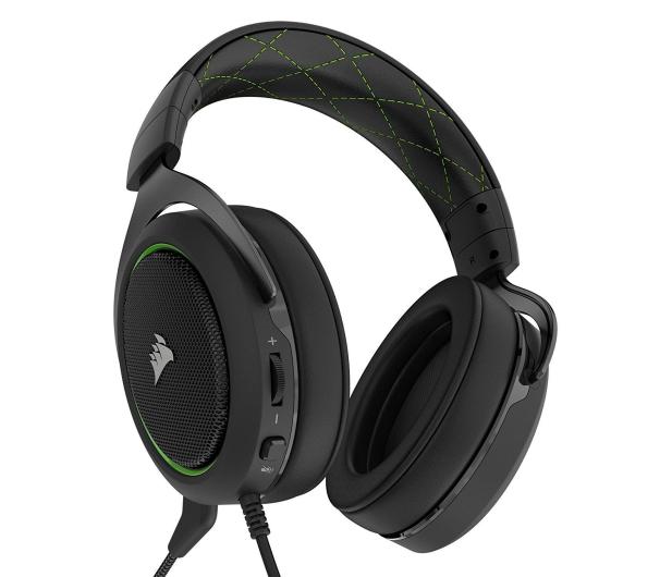 Corsair HS50 Stereo Gaming Headset (zielone) - 395037 - zdjęcie 4