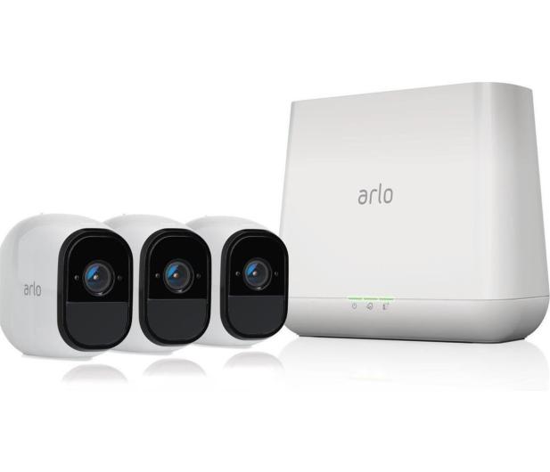 Netgear Arlo PRO 2 WiFi FullHD IR (3szt. + stacja alarm.)  - 393538 - zdjęcie