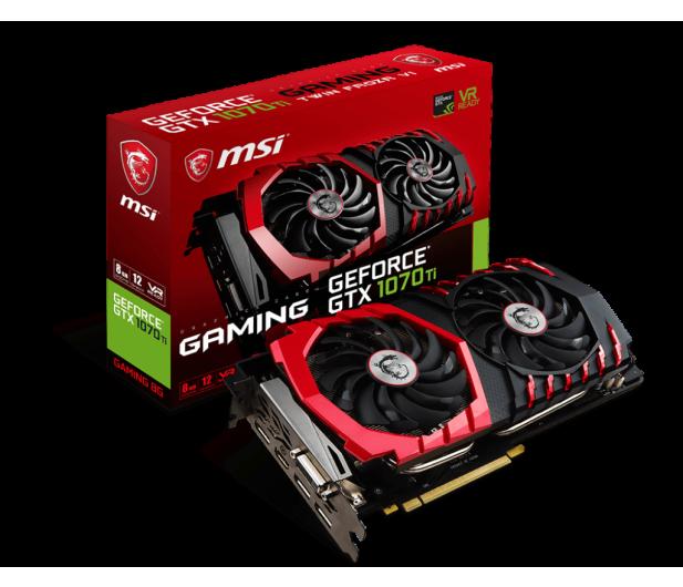 MSI GeForce GTX 1070 Ti GAMING 8GB GDDR5 - 391144 - zdjęcie