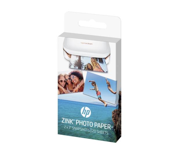 HP Papier fotograficzny samoprzylepny ZINK 20 szt. - 391108 - zdjęcie