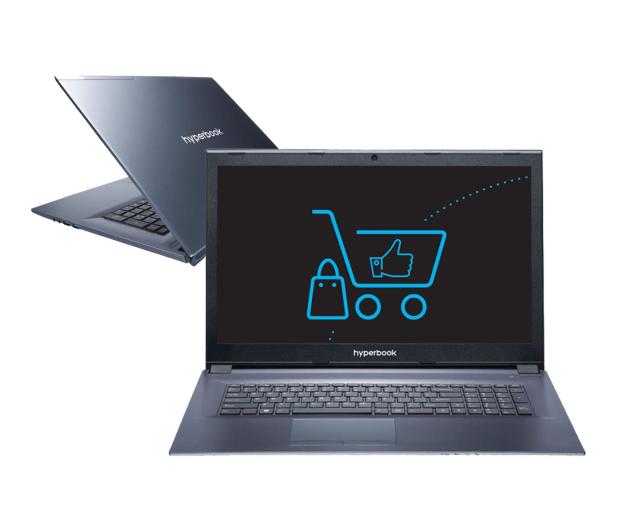 Hyperbook N87 i7-7700HQ/8GB/1TB GTX1060  - 391111 - zdjęcie