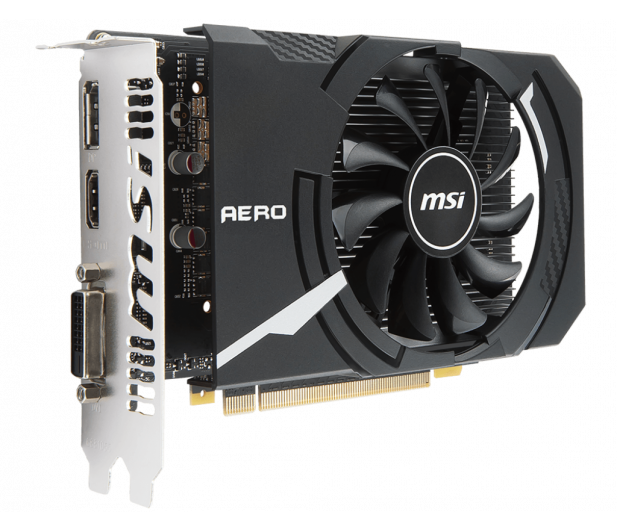 MSI GeForce GTX 1050 AERO ITX OC V1 2GB GDDR5 - 390999 - zdjęcie 2