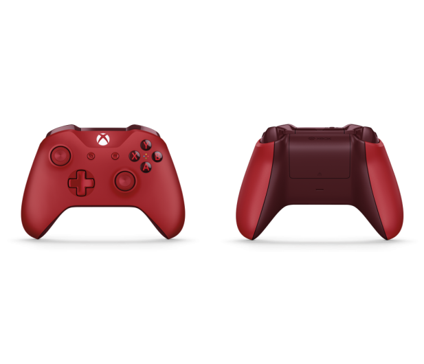 Microsoft Xbox One S Wireless Controller - Red - 390929 - zdjęcie 4