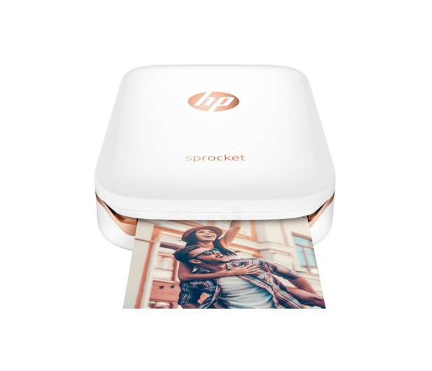 HP Sprocket Mobile Photo Printer biała - 391104 - zdjęcie