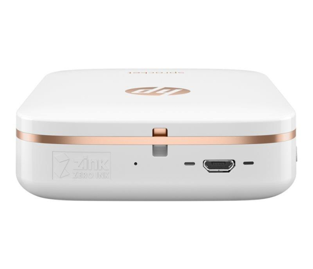 HP Sprocket Mobile Photo Printer biała - 391104 - zdjęcie 6