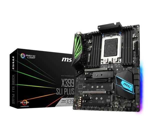 MSI X399 SLI PLUS (PCI-E DDR4 USB 3.1 / M.2) - 391006 - zdjęcie