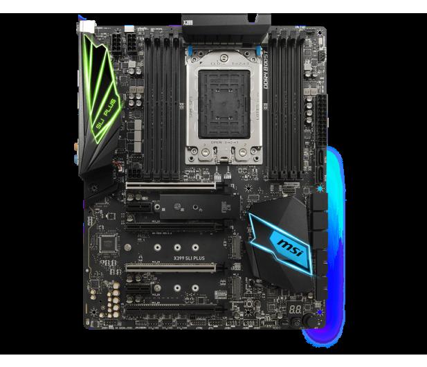 MSI X399 SLI PLUS (PCI-E DDR4 USB 3.1 / M.2) - 391006 - zdjęcie 3