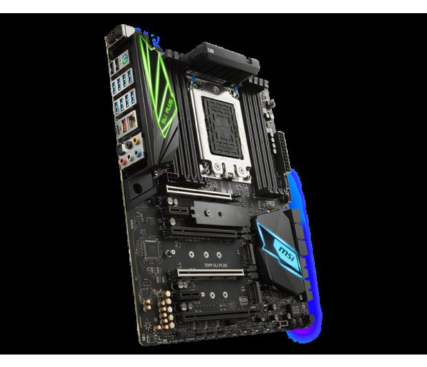 MSI X399 SLI PLUS (PCI-E DDR4 USB 3.1 / M.2) - 391006 - zdjęcie 2