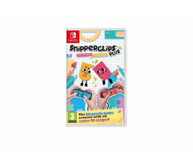 Nintendo SNIPPERCLIPS PLUS: CUT IT OUT. TOGETHER! - 392089 - zdjęcie
