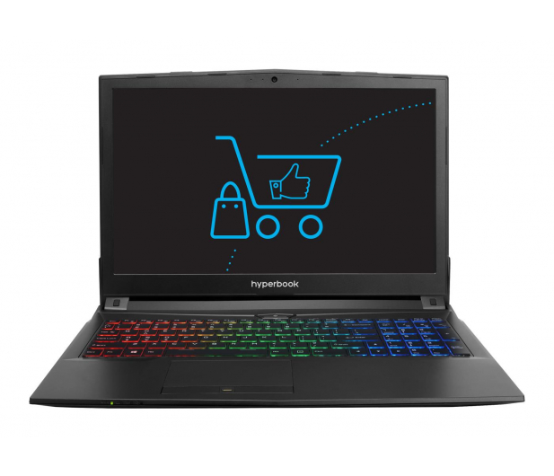 Hyperbook N85 i7-7700HQ/8GB/1TB GTX1050Ti - 383660 - zdjęcie 2