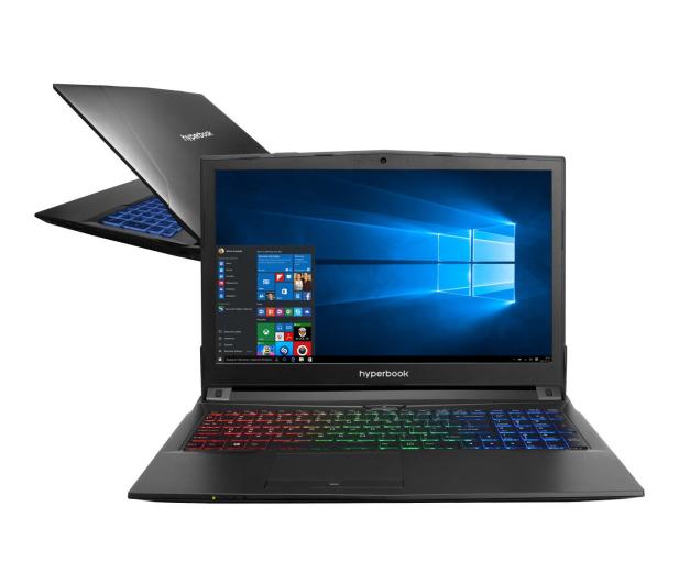 Hyperbook  N85 i7-7700HQ/8GB/1TB/Win10X GTX1050Ti  - 387701 - zdjęcie