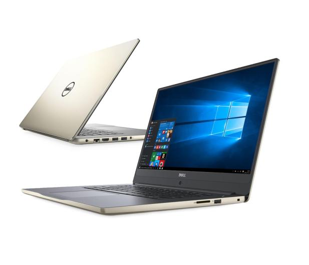 Dell Inspiron 7560 i7-7500/16G/128+1000/10Pro FHD złoty - 345620 - zdjęcie
