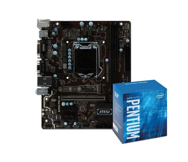 MSI B250M PRO-VD + Intel G4600 - 391568 - zdjęcie 1