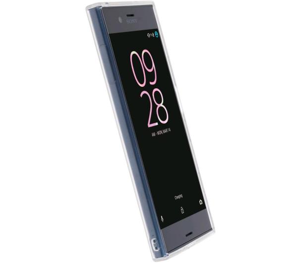 Krusell Kivik Cover do Sony Xperia XZ Transparent - 397040 - zdjęcie