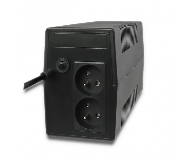 Qoltec Monolith (850VA/480W, 2xPL, AVR) - 397369 - zdjęcie 2