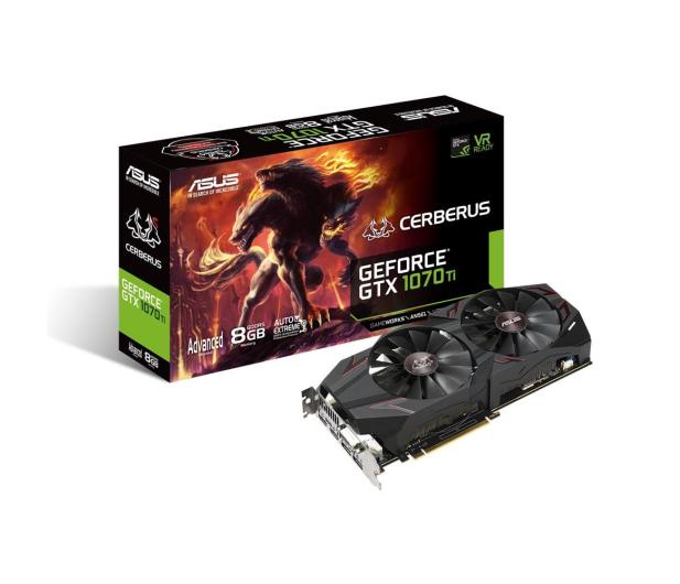 ASUS GeForce GTX 1070 Ti CERBERUS 8GB GDDR5 - 397872 - zdjęcie