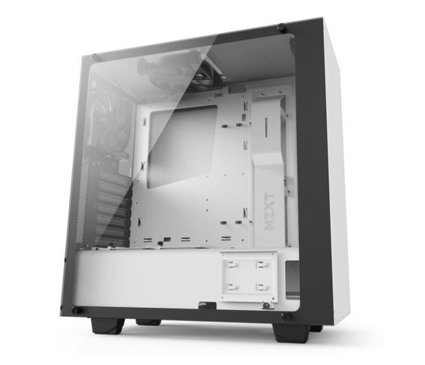 NZXT ELITE S340 biała z oknem USB 3.0 - 397789 - zdjęcie 2