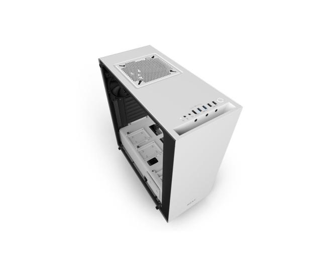 NZXT ELITE S340 biała z oknem USB 3.0 - 397789 - zdjęcie