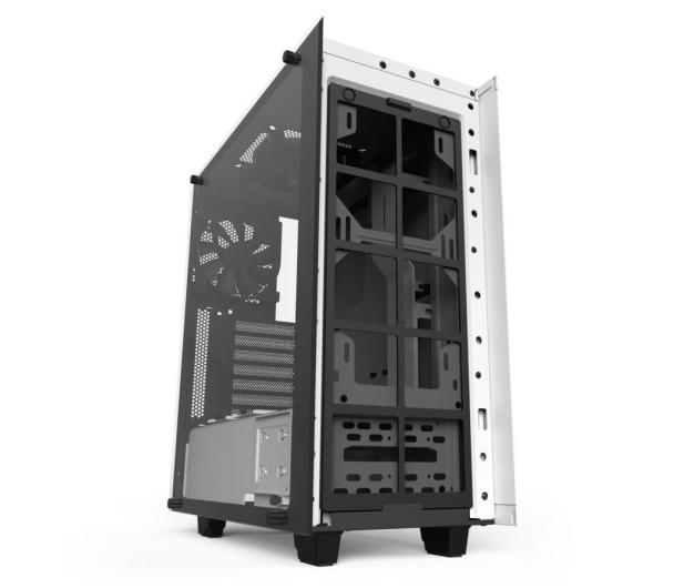 NZXT ELITE S340 biała z oknem USB 3.0 - 397789 - zdjęcie 7