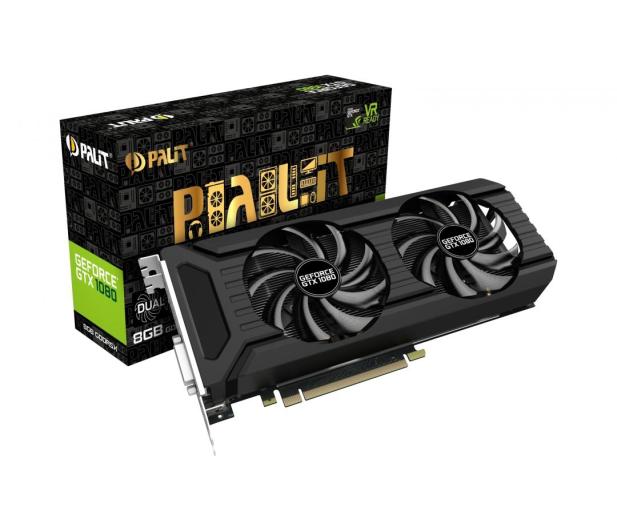 Palit GeForce GTX 1080 Dual 8GB GDDR5X - 397970 - zdjęcie