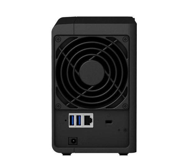 Synology DS218 (2xHDD, 4x1.4GHz, 2GB, 3xUSB, 1xLAN)  - 398284 - zdjęcie 3