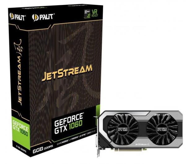 Palit GeForce GTX 1060 JetStream 6GB GDDR5 - 374647 - zdjęcie