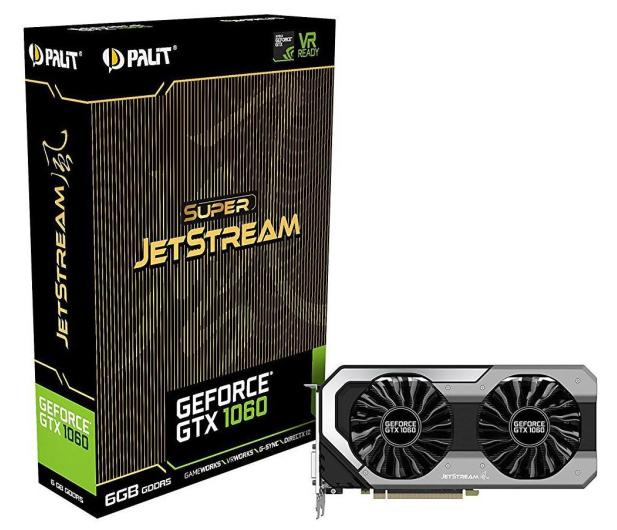 Palit GeForce GTX 1060 Super JetStream 6GB GDDR5  - 335254 - zdjęcie