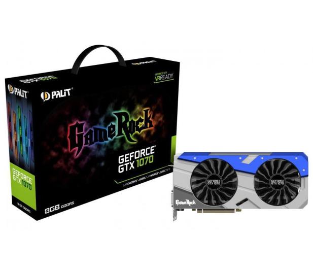Palit GeForce GTX 1070 Gamerock 8GB GDDR5 - 349346 - zdjęcie
