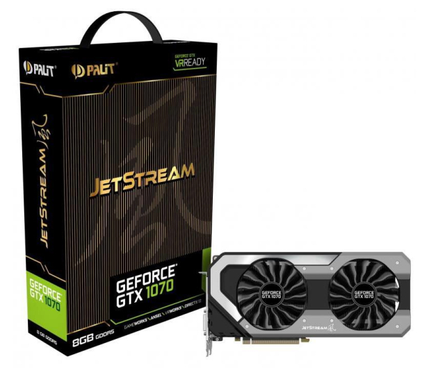 Palit GeForce GTX 1070 JetStream 8GB GDDR5 - 374654 - zdjęcie