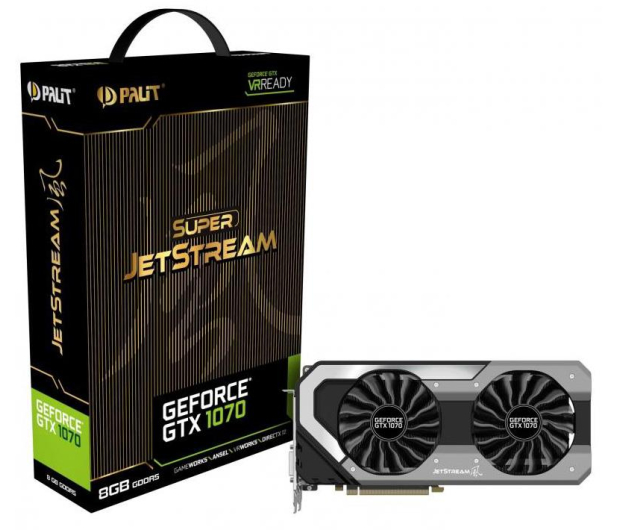 Palit GeForce GTX 1070 Super JetStream 8GB GDDR5 - 367321 - zdjęcie