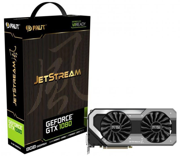 Palit GeForce GTX 1080 JetStream 8GB GDDR5X - 374652 - zdjęcie