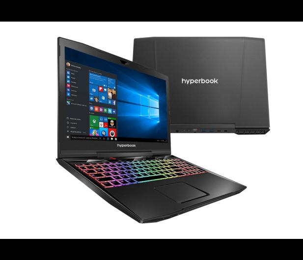 Hyperbook MK55 PULSAR i7-7700HQ/16/1TB+256/Win10X GTX1050Ti - 398671 - zdjęcie