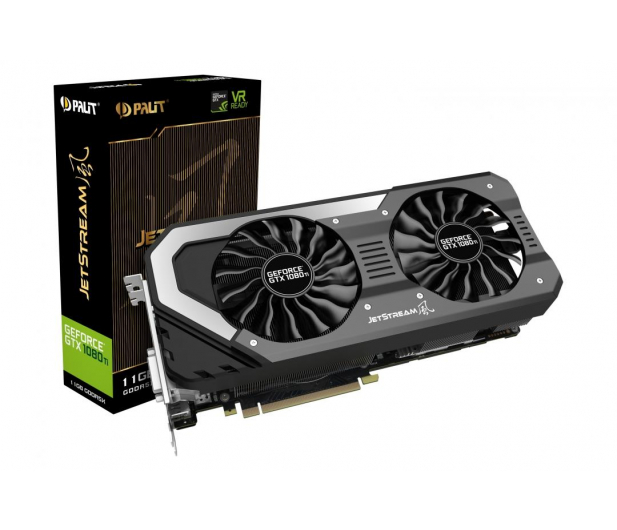 Palit GeForce GTX 1080 Ti JetStream 11GB GDDR5X  - 398856 - zdjęcie