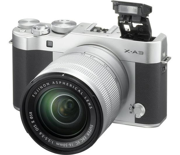Fujifilm X-A3 srebrny + XC 16-50mm f3,5-5,6 OIS II  - 395568 - zdjęcie