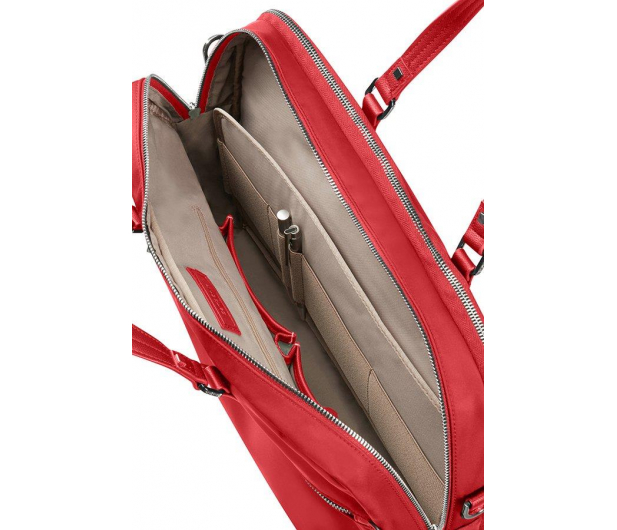 "Samsonite Karissa Biz 15.6"" Formula Red (2 komory) - 395436 - zdjęcie 2"
