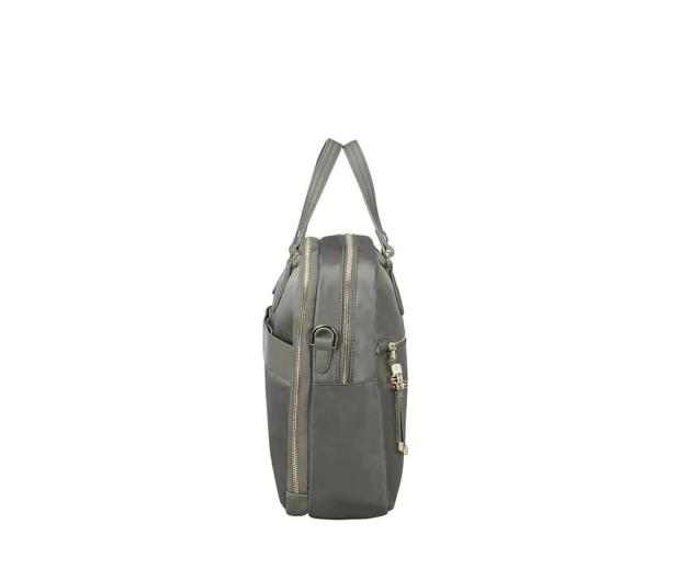 """Samsonite Karissa Biz 15.6"""" Army Grey (2 komory)  - 395440 - zdjęcie 6"""